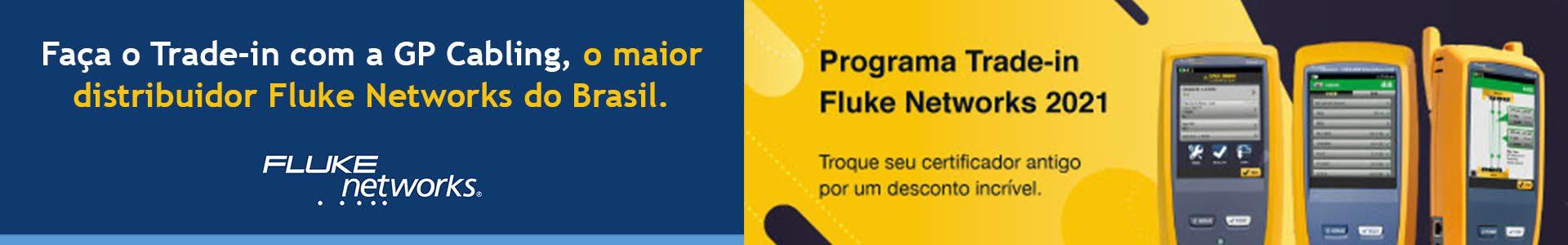 Trade-in Fluke Networks. Seu certificador usado vale uma grana na compra de Certificadores de Rede VERSIV Fluke Networks. Certificação UTP, óptica e OTDR.